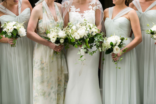 light green long bridesmaid dresses - Photography: Emilia Jane