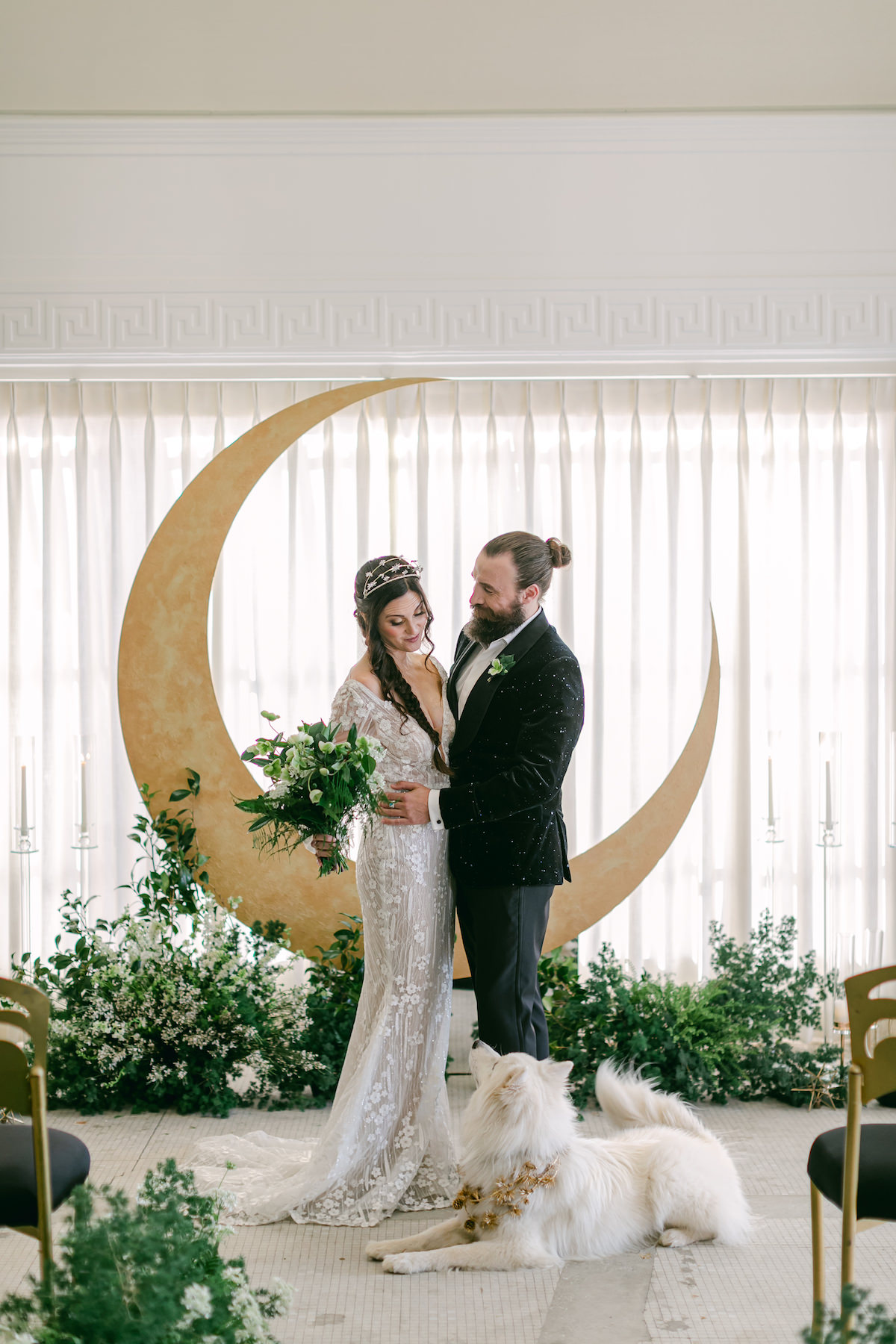 Celestial wedding inspiration - Lily Tapia Photography