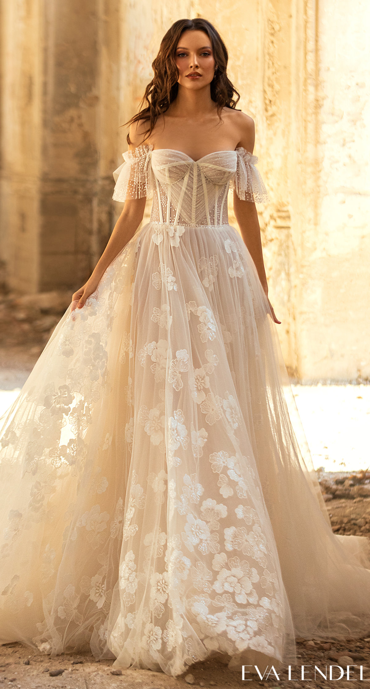 Eva Lendel Wedding Dresses 2021- Golden Hour Collection -Tiziana