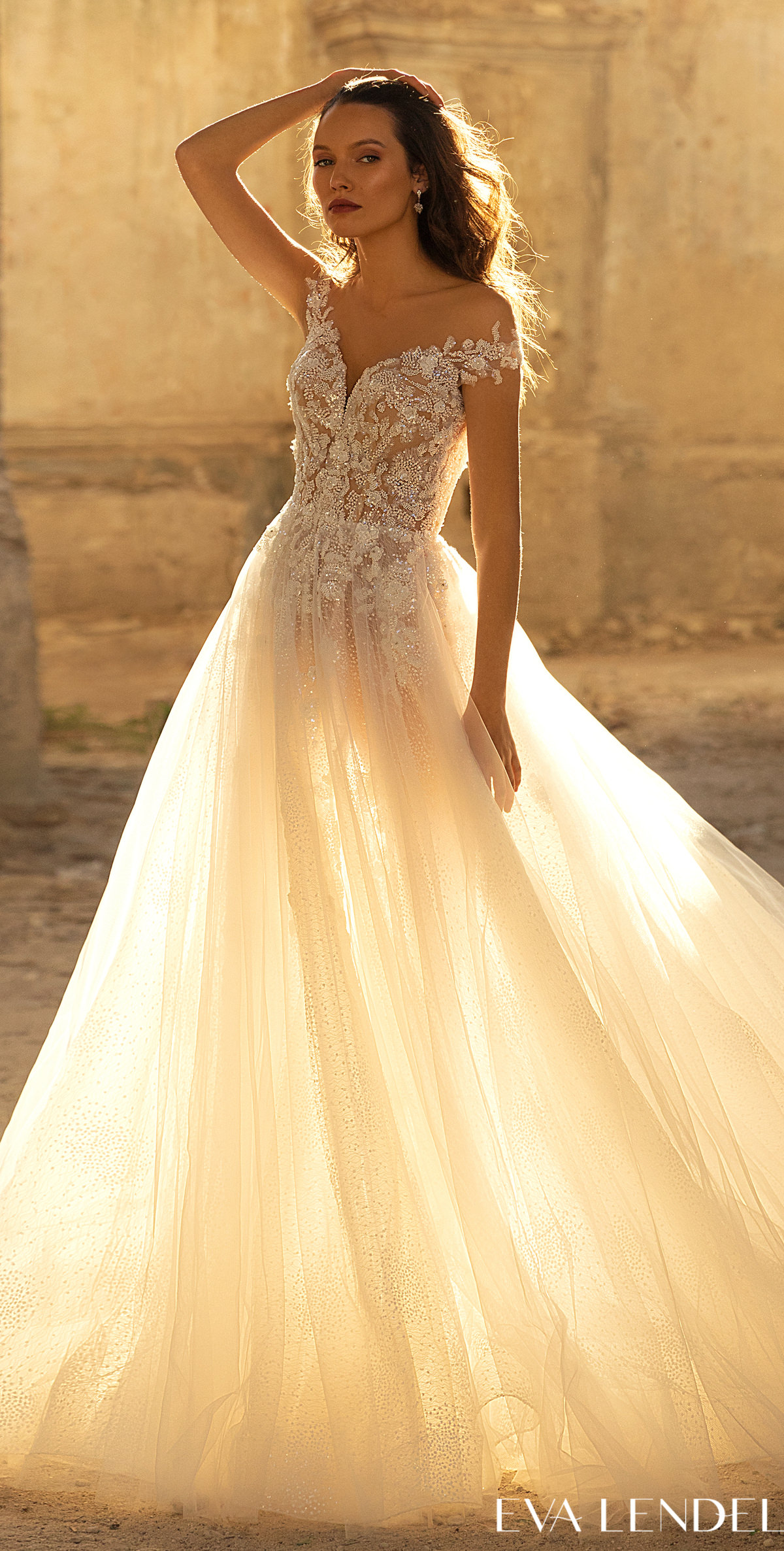 Eva Lendel Wedding Dresses 2021- Golden Hour Collection -Veronika