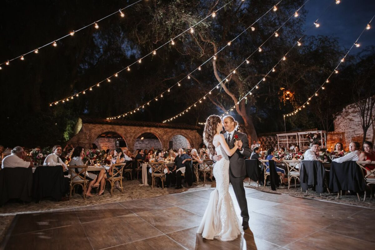 Ranch wedding reception first dance - Photography: Dmitry Shumanev