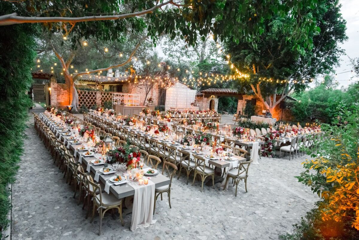 Rustic Outdoor Wedding Reception - Photography: Dmitry Shumanev