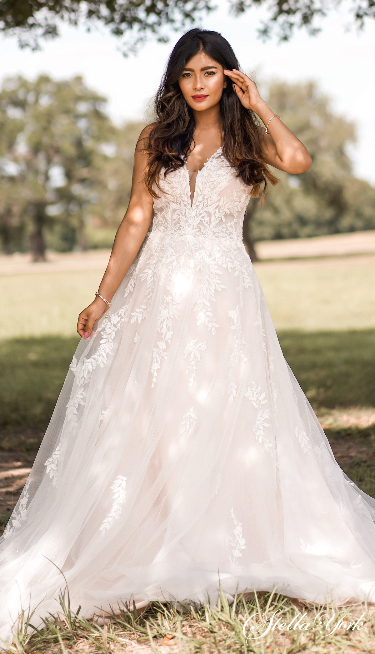 Ball gown wedding dresses by Stella York 2021