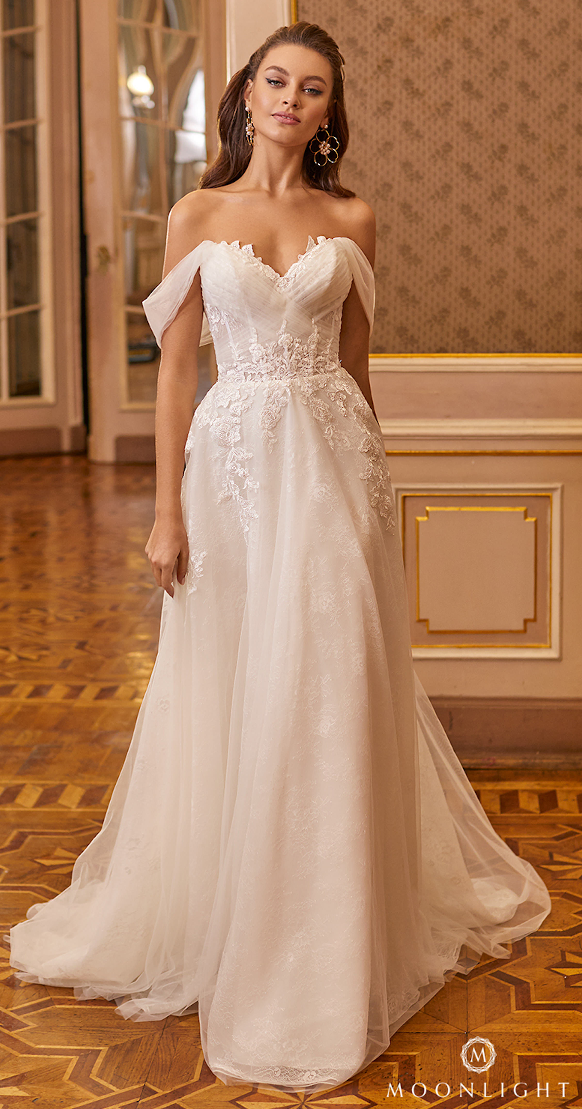 Gilded X Moonlight Collection Fall 2021 Wedding Dresses - J6821