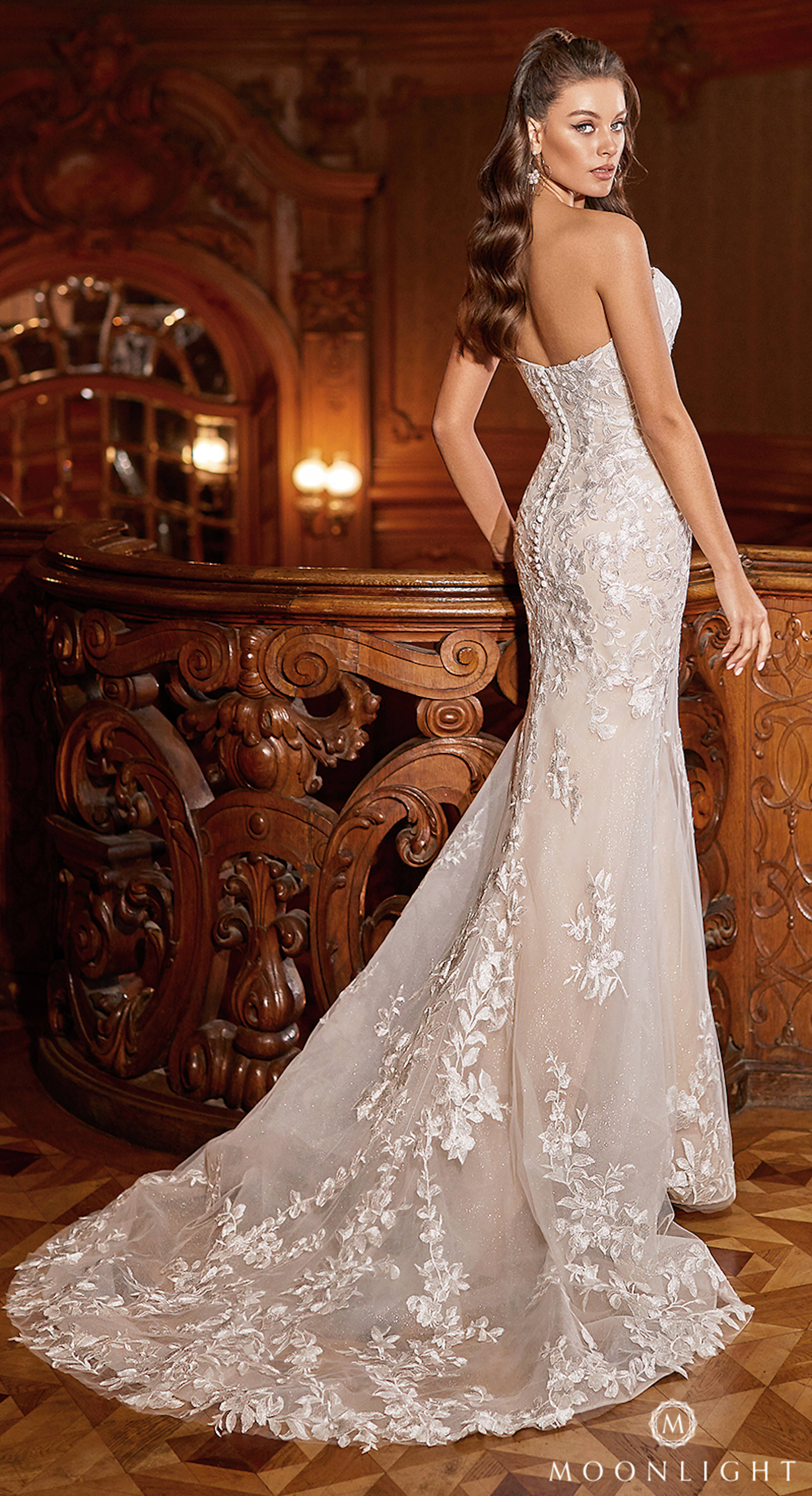 Gilded X Moonlight Collection Fall 2021 Wedding Dresses - J6822