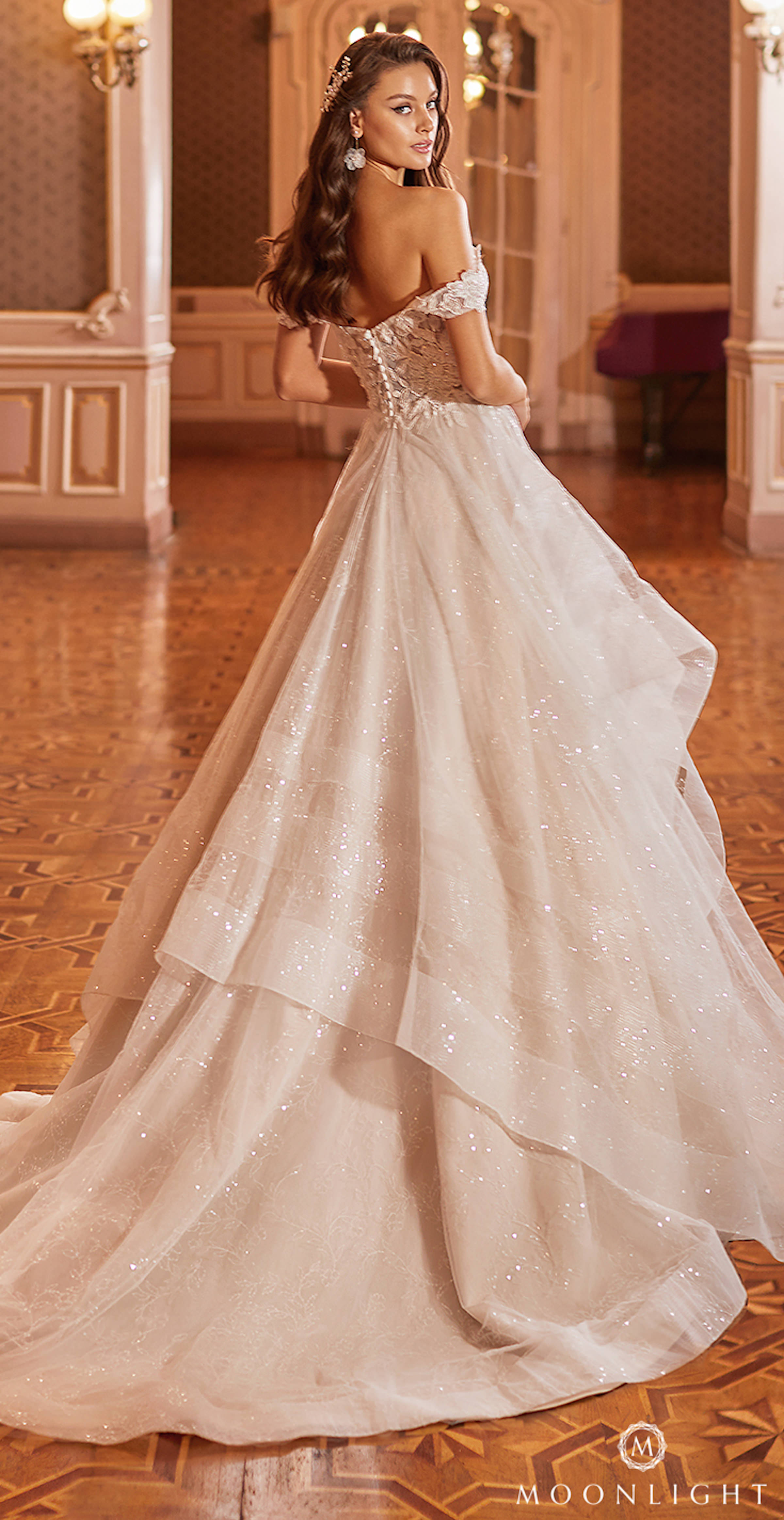 Gilded X Moonlight Collection Fall 2021 Wedding Dresses - J6823