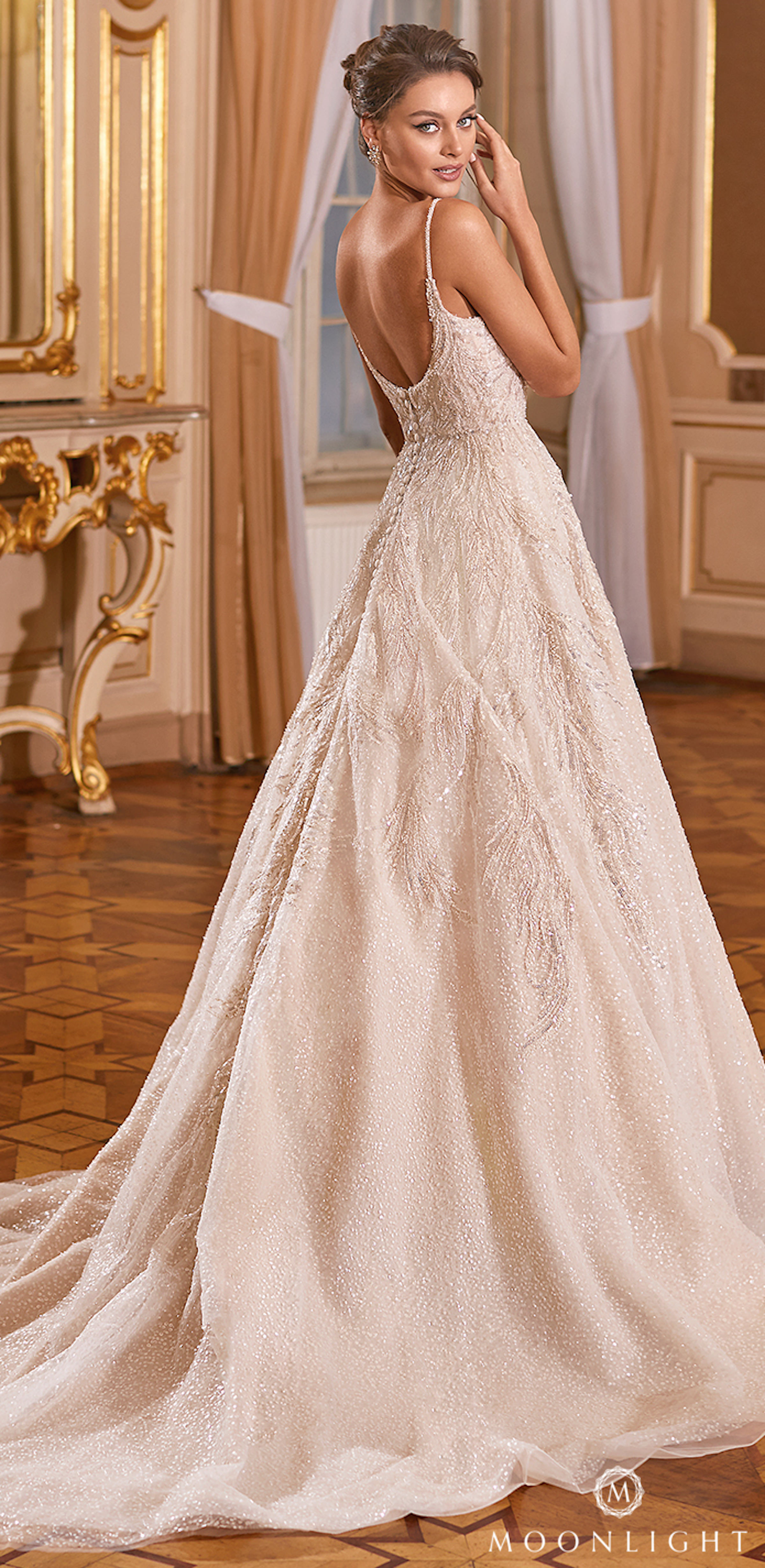 Gilded X Moonlight Collection Fall 2021 Wedding Dresses - J6824
