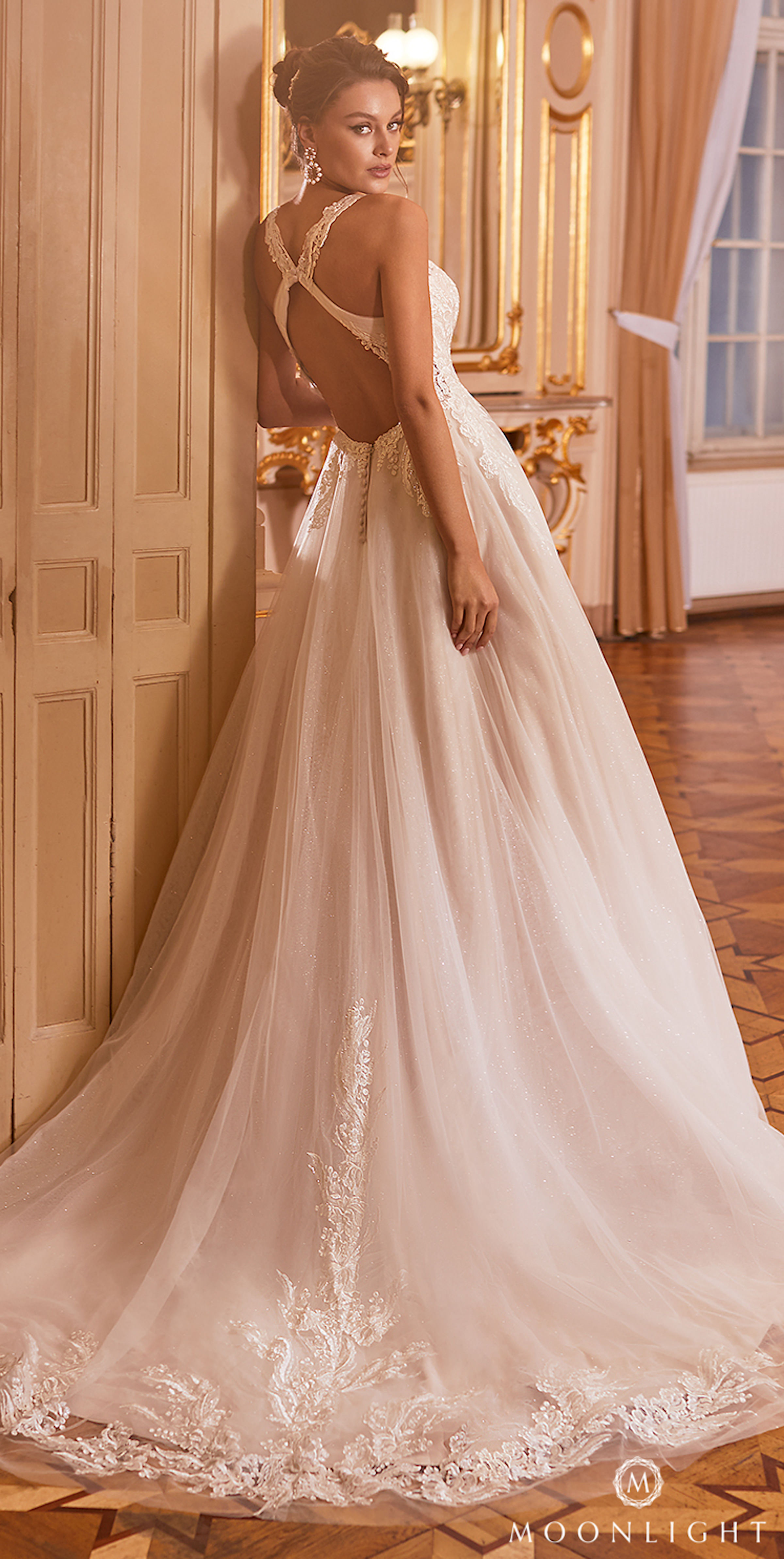 Gilded X Moonlight Collection Fall 2021 Wedding Dresses - J6825
