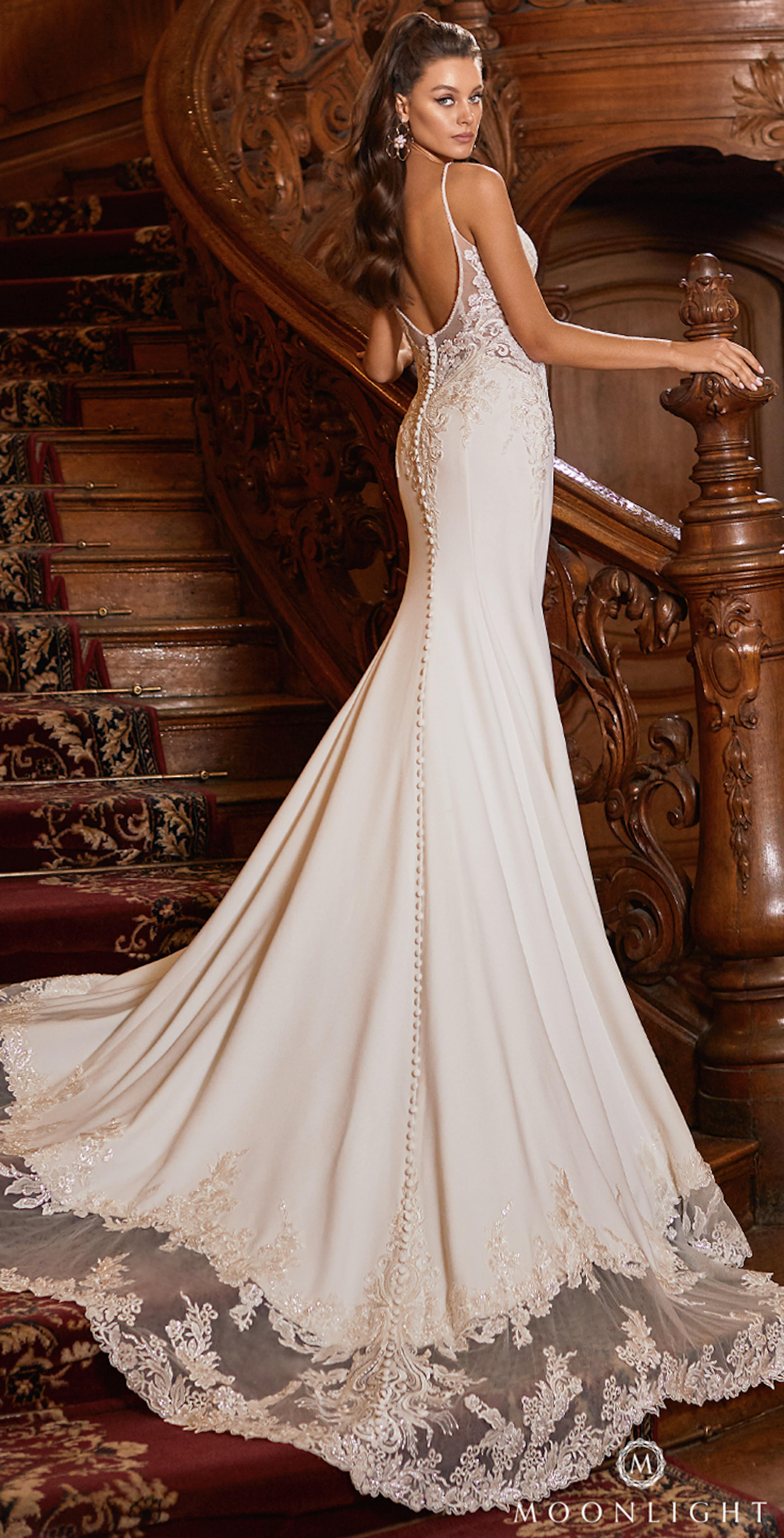 Gilded X Moonlight Collection Fall 2021 Wedding Dresses - J6826
