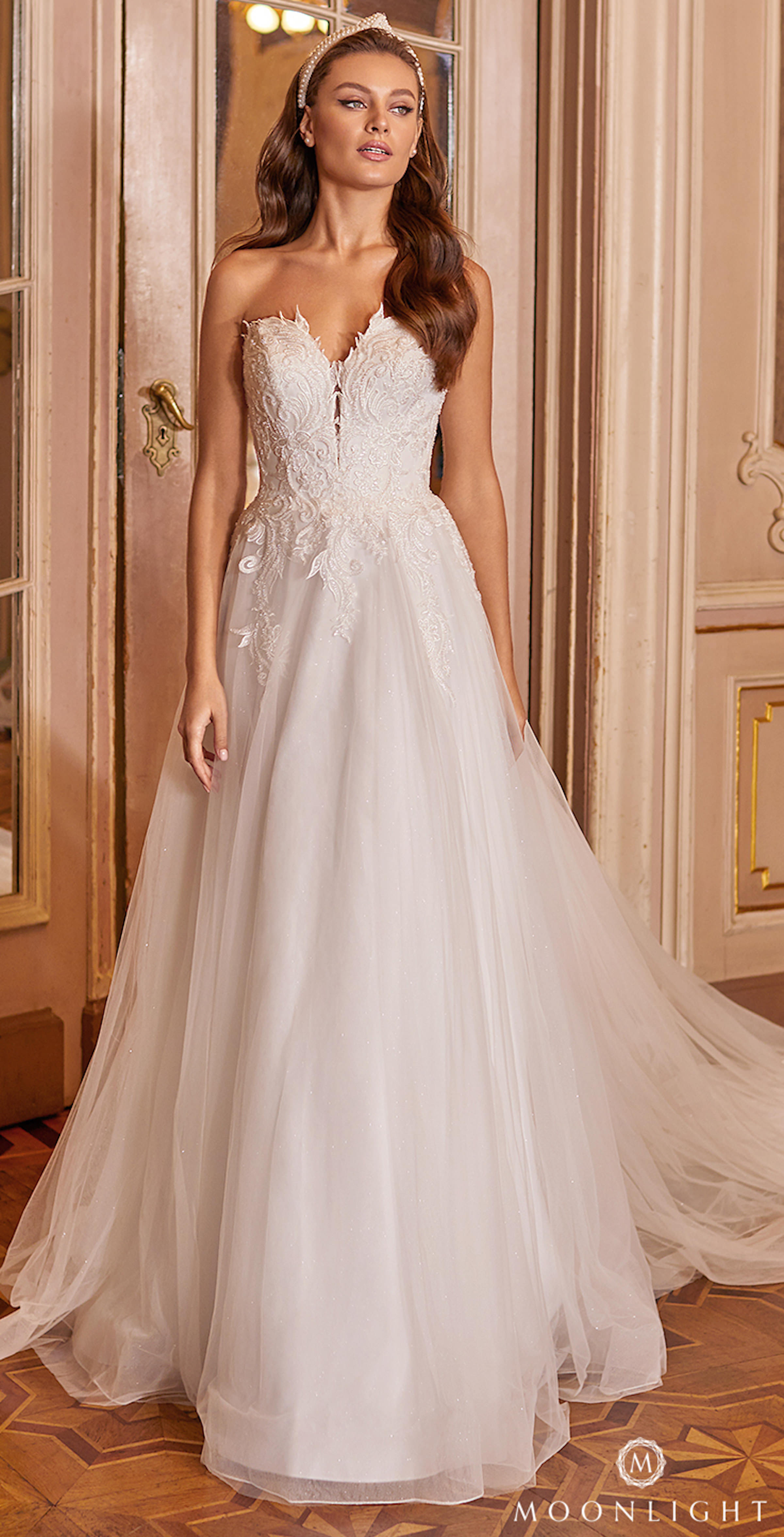 Gilded X Moonlight Collection Fall 2021 Wedding Dresses - J6827