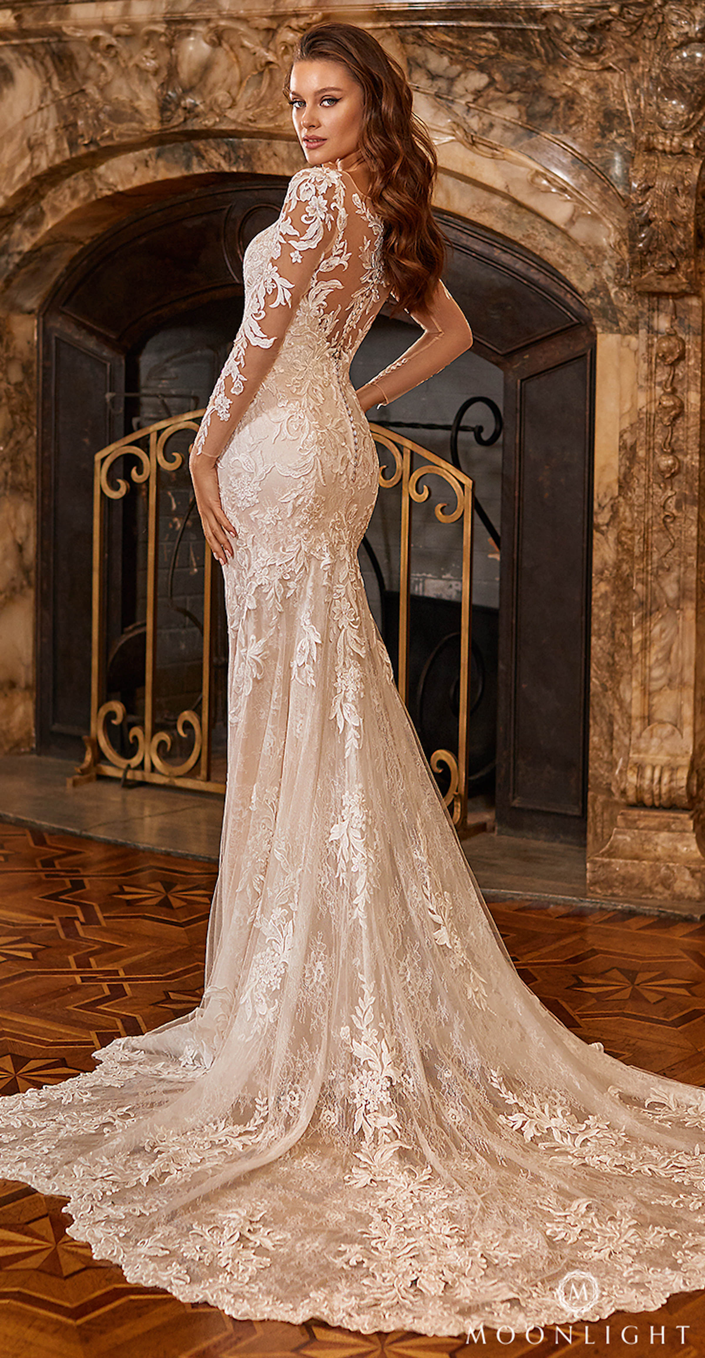 Gilded X Moonlight Collection Fall 2021 Wedding Dresses - J6828