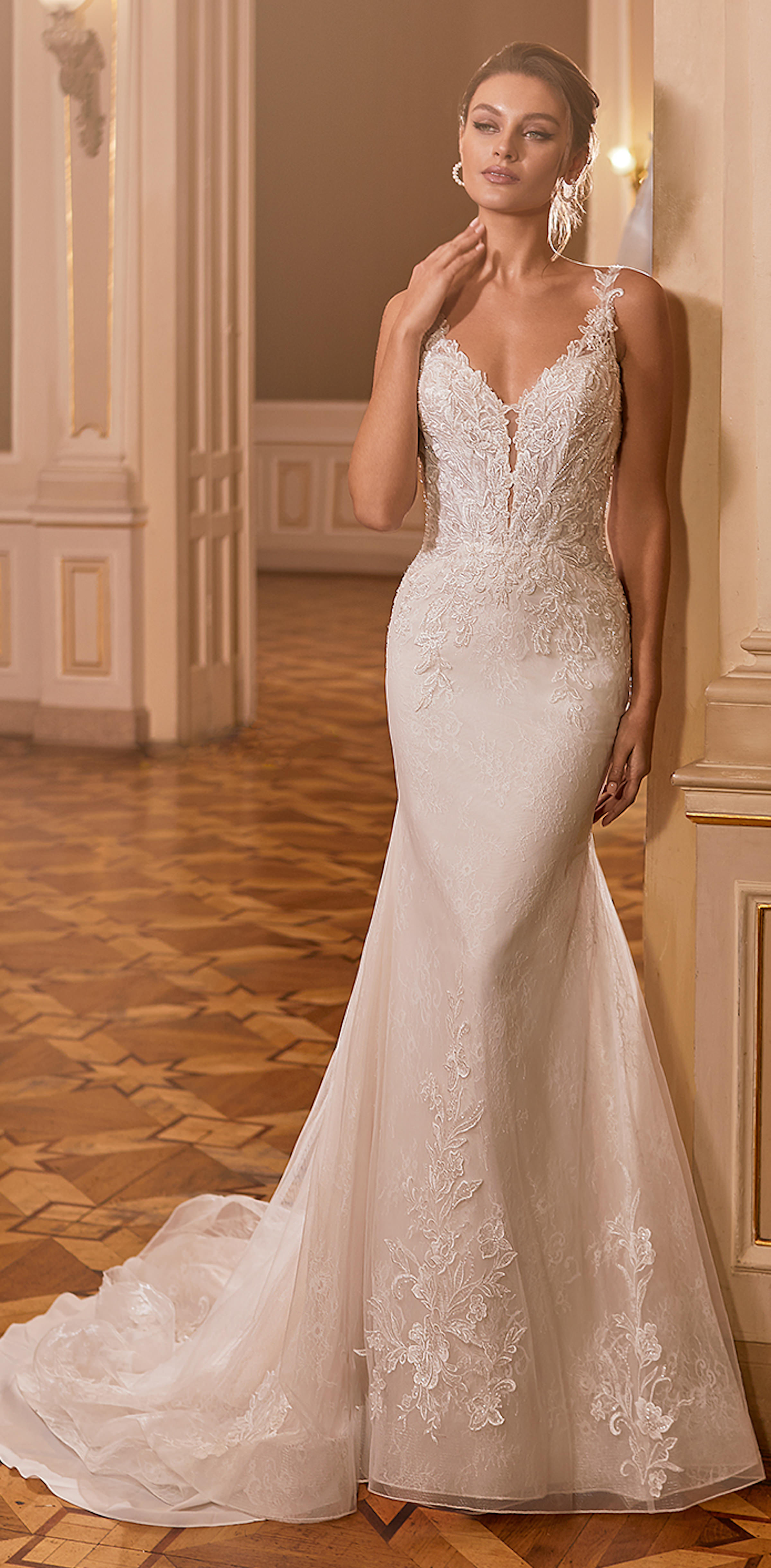 Gilded X Moonlight Collection Fall 2021 Wedding Dresses - J6829