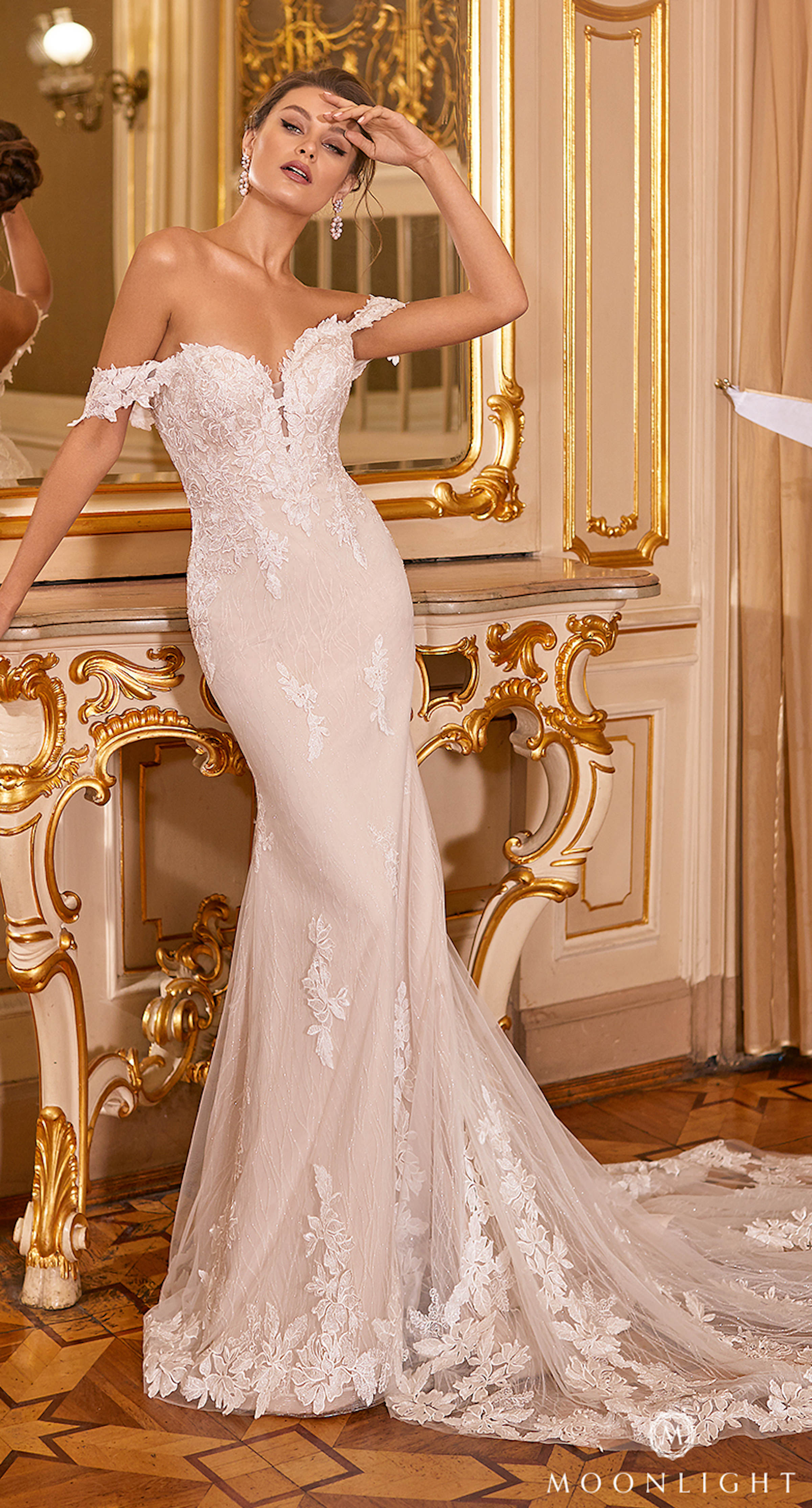 Gilded X Moonlight Collection Fall 2021 Wedding Dresses - J6830