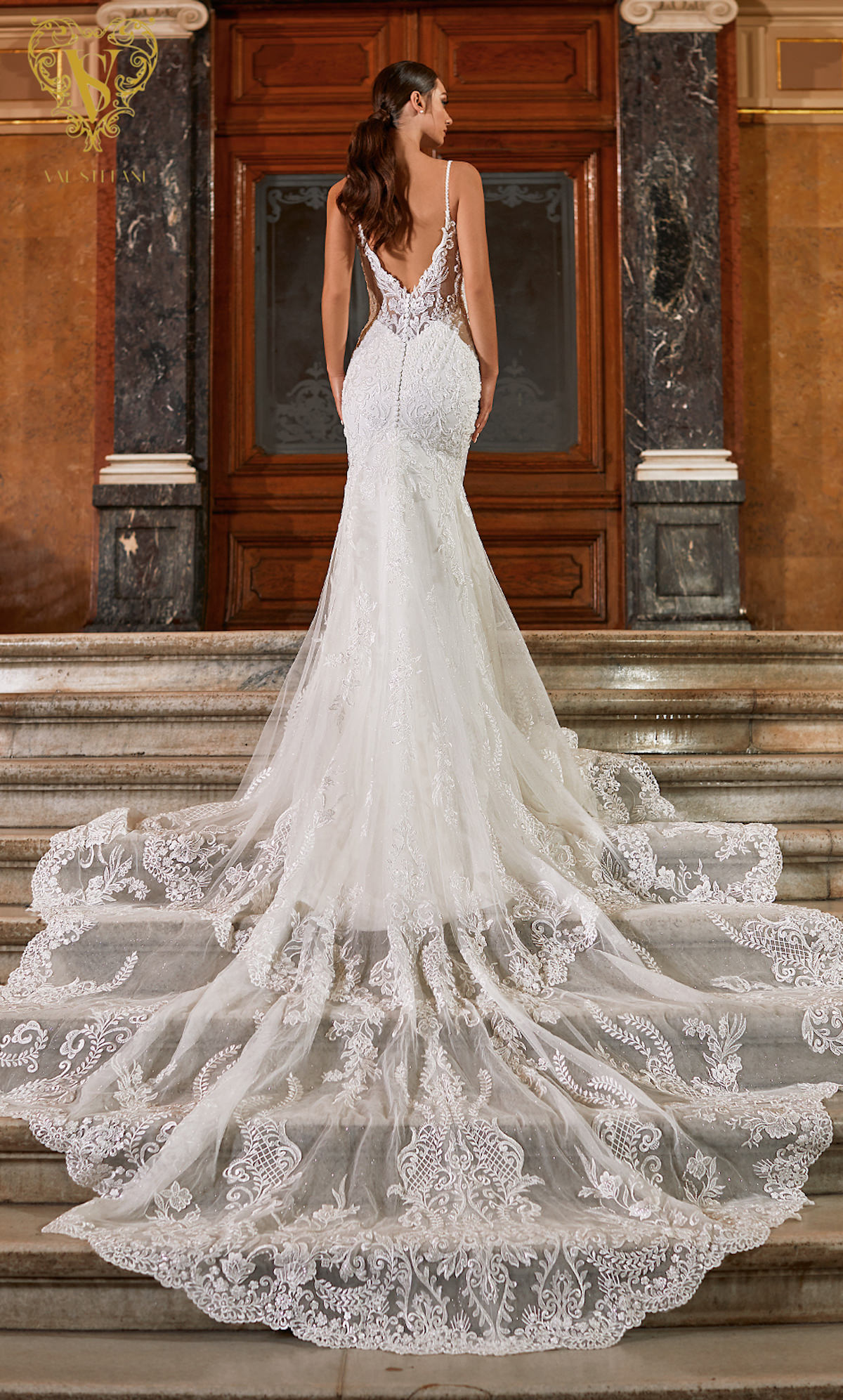 Val Stefani Wedding Dresses Fall 2021 - Opus Collection - Aida - Style D8271