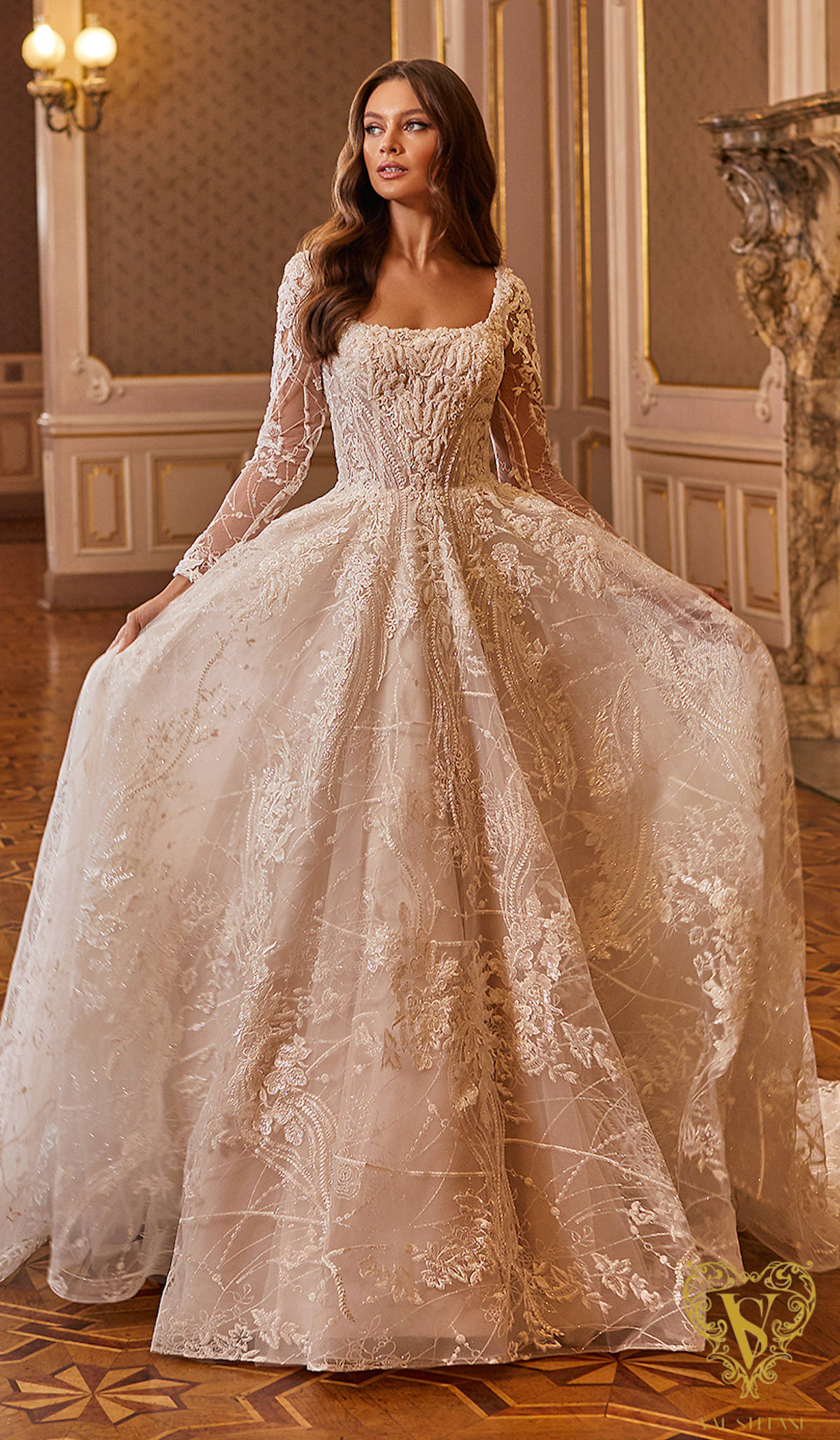 Val Stefani Wedding Dresses Fall 2021 - Opus Collection - Floria - Style D8275