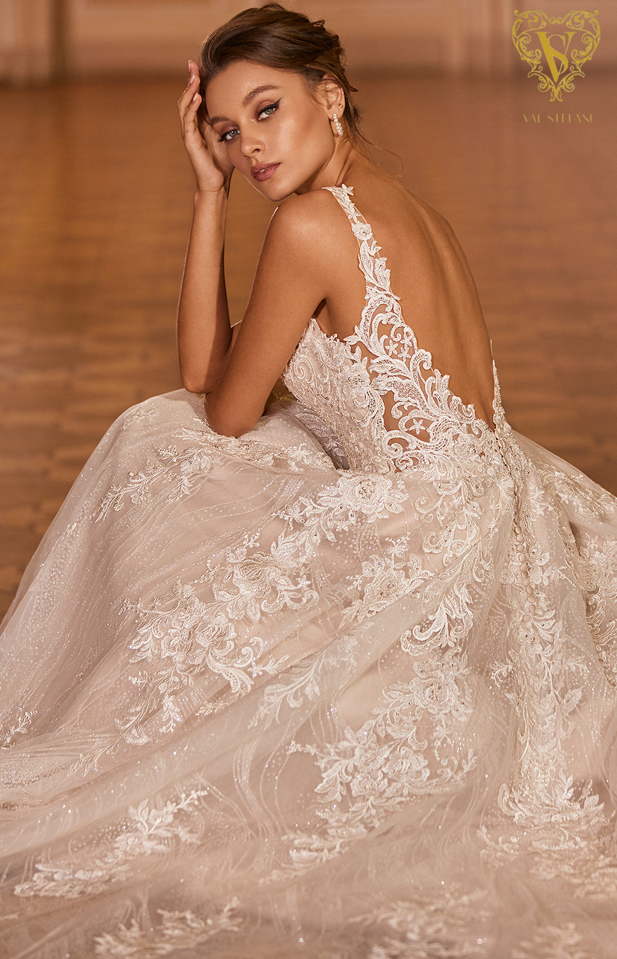 Val Stefani Wedding Dresses Fall 2021 - Opus Collection - Soprano - Style D8277