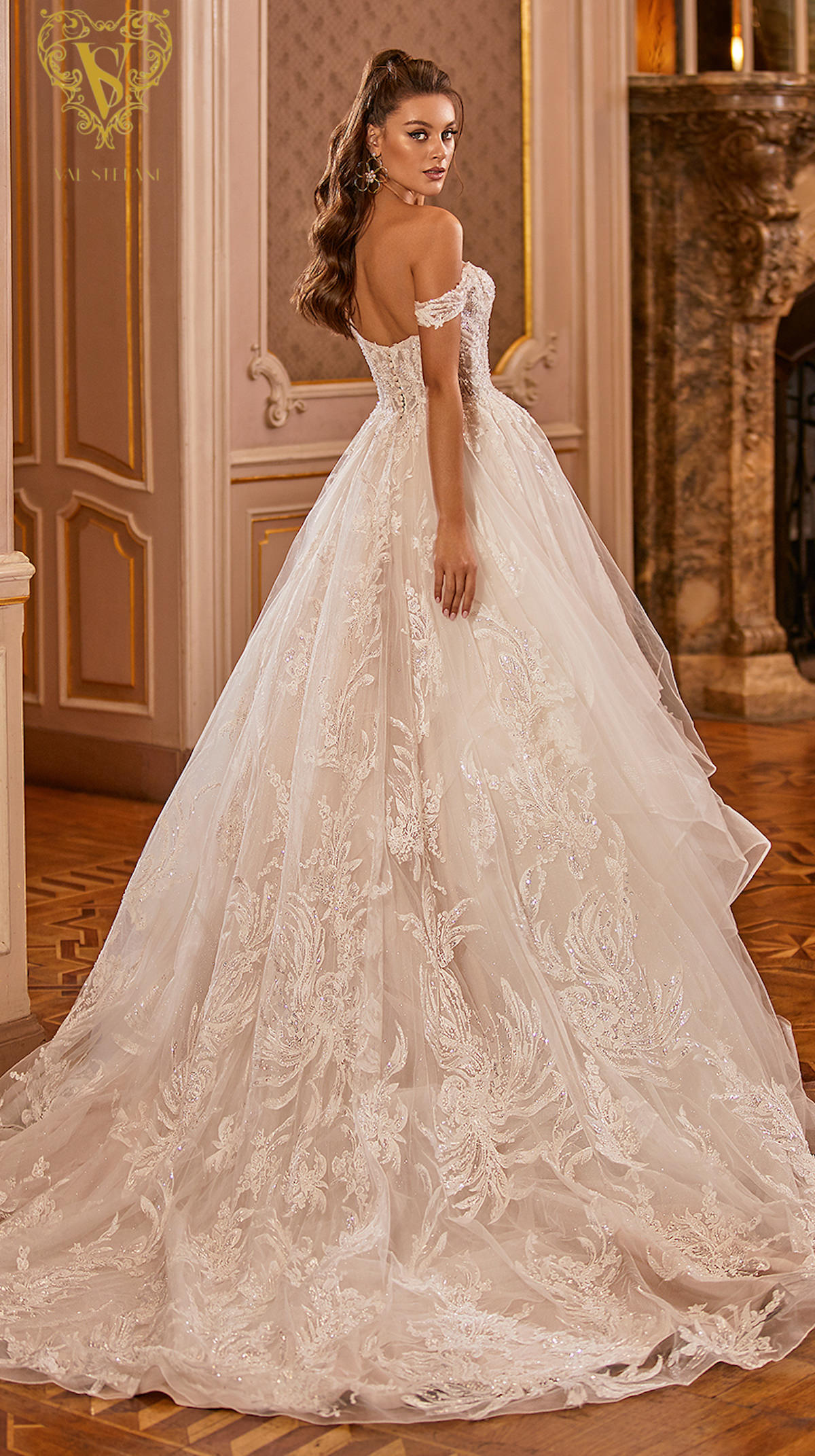 Val Stefani Wedding Dresses Fall 2021 - Opus Collection - Violetta - Style D8278