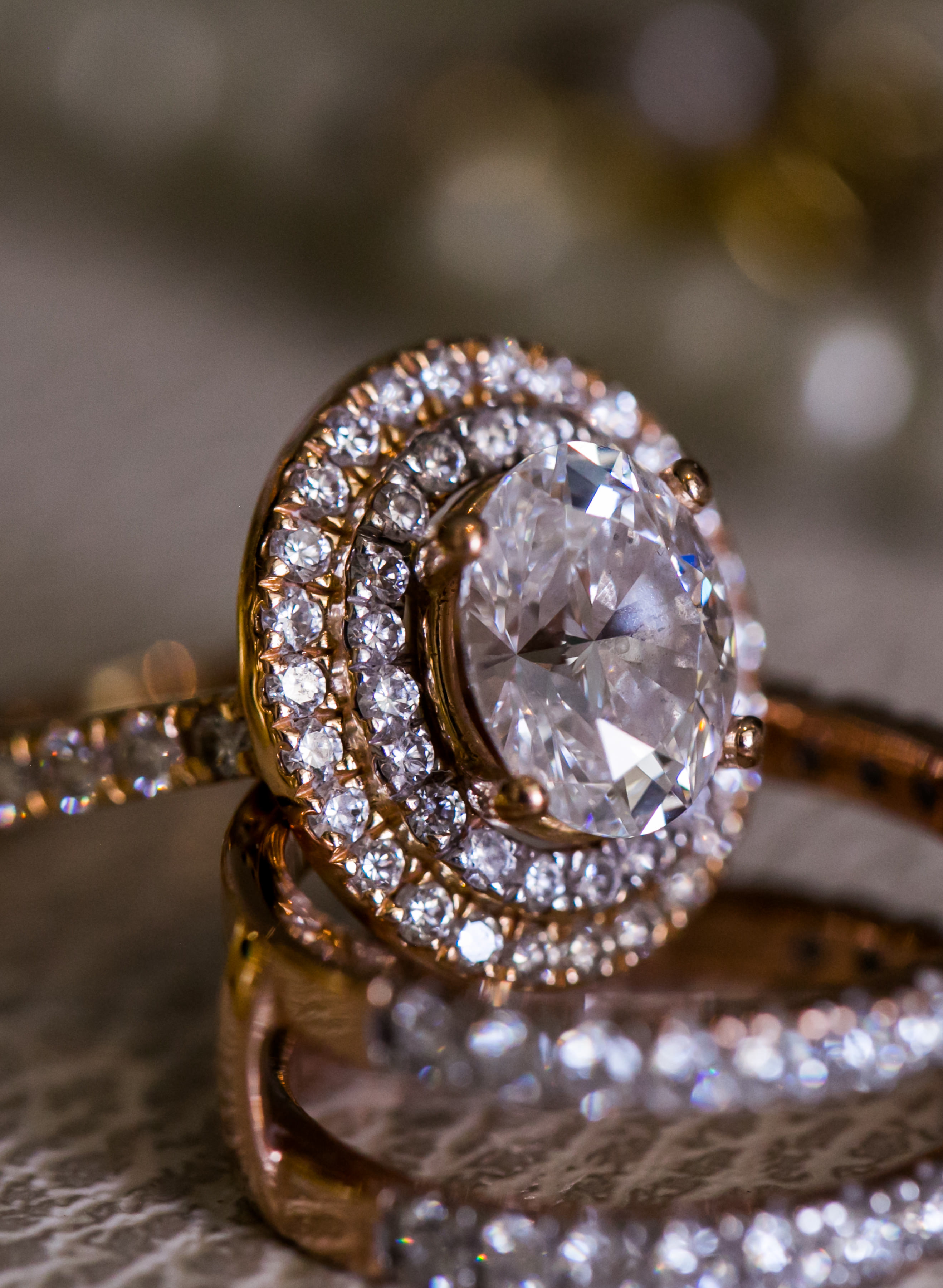 Diamond Wedding Ring - Nadia D Photo