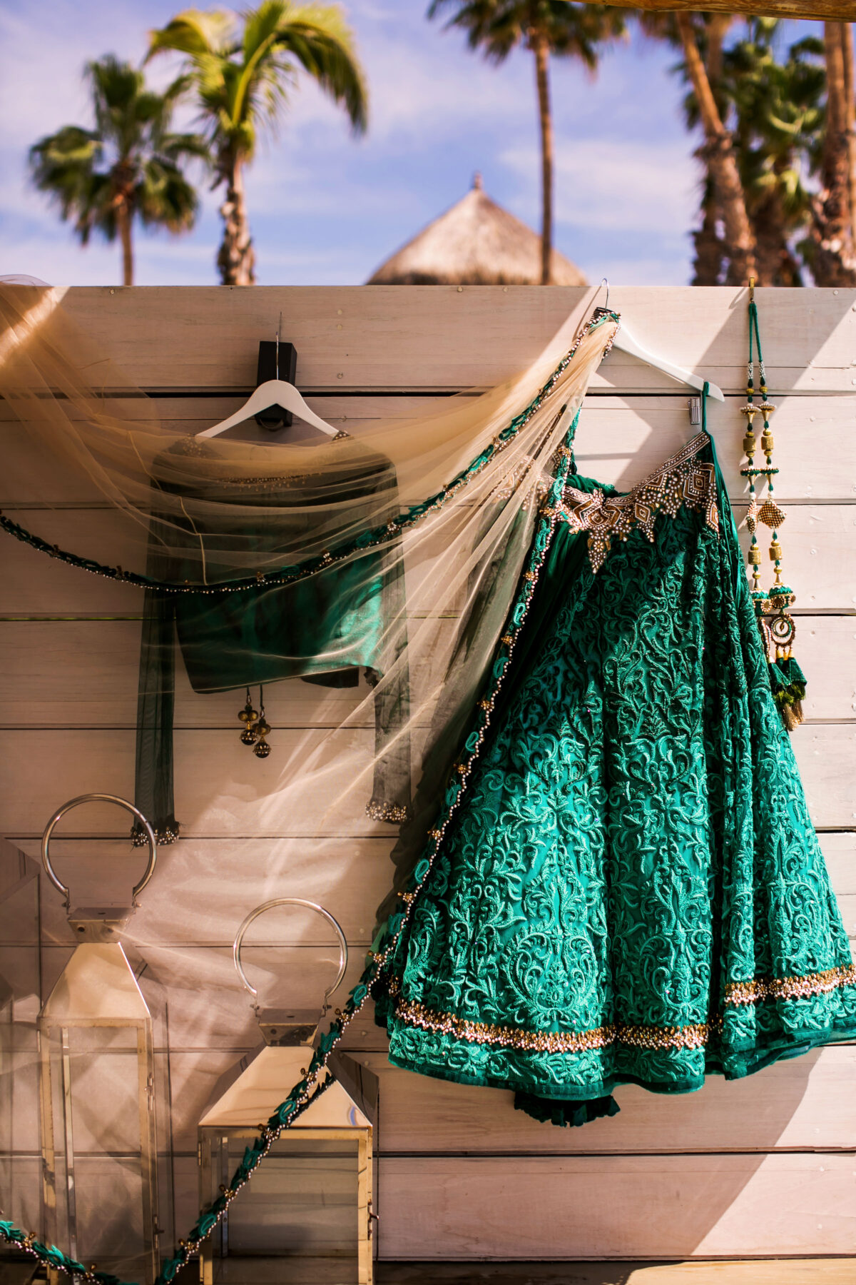 South Asian Bride Wedding Dress - Lehenga - Nadia D Photo