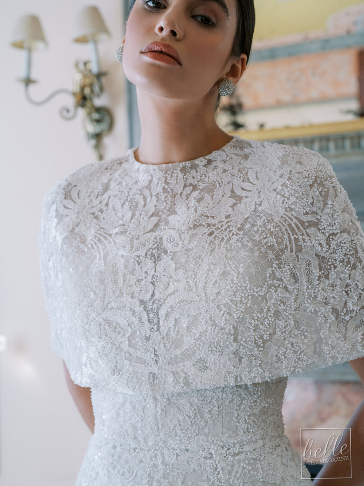 Wedding dress trends 2021 - Capes- Anne Barge