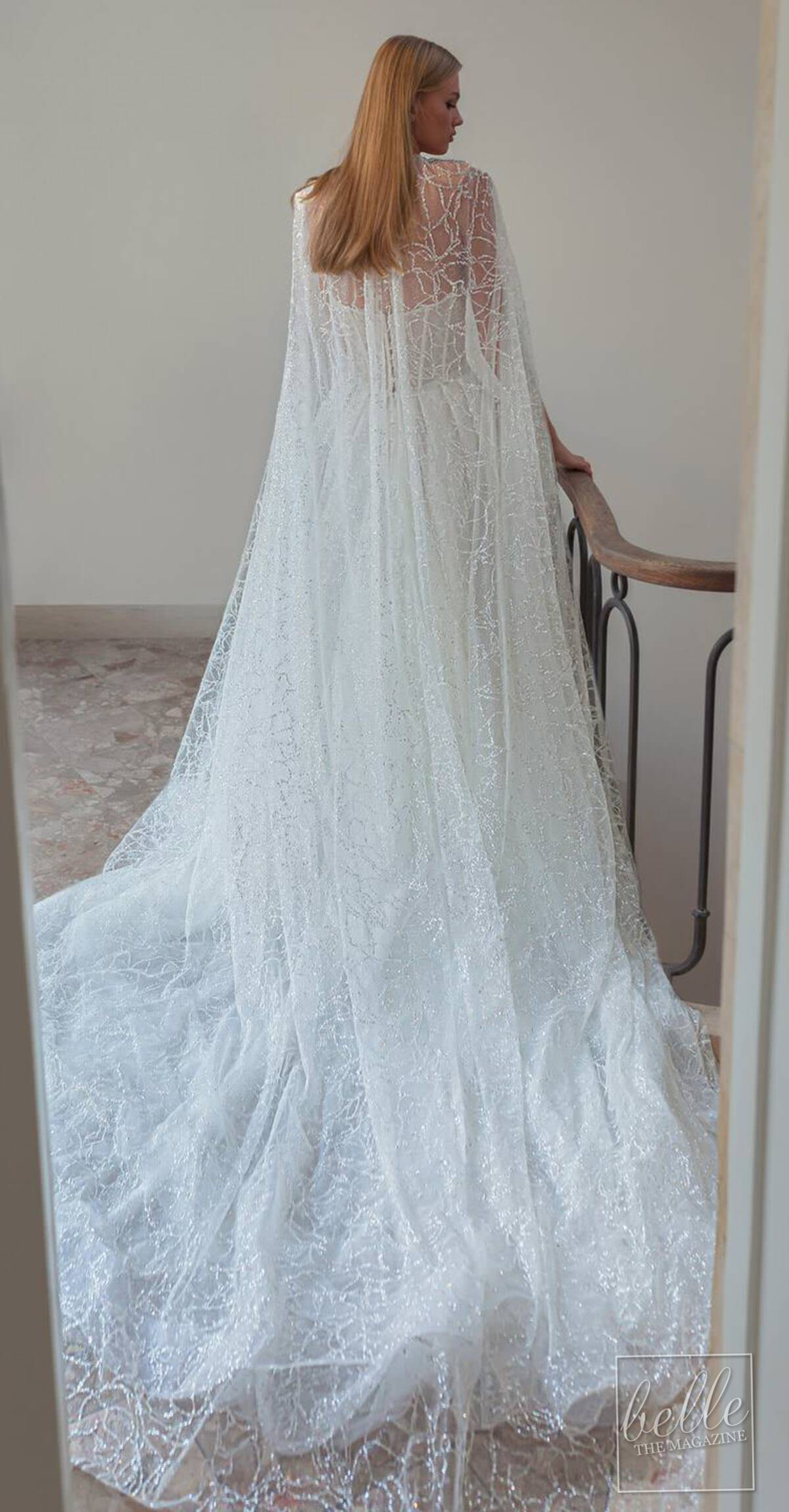 Wedding dress trends 2021 - Capes- MIMOSA BY JULIE VINO 2021