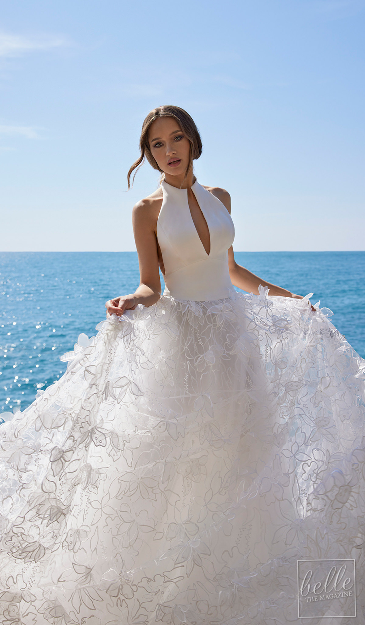 Wedding dress trends 2021 - Florals - Ines by Ines Di Santo SS22 Penelope