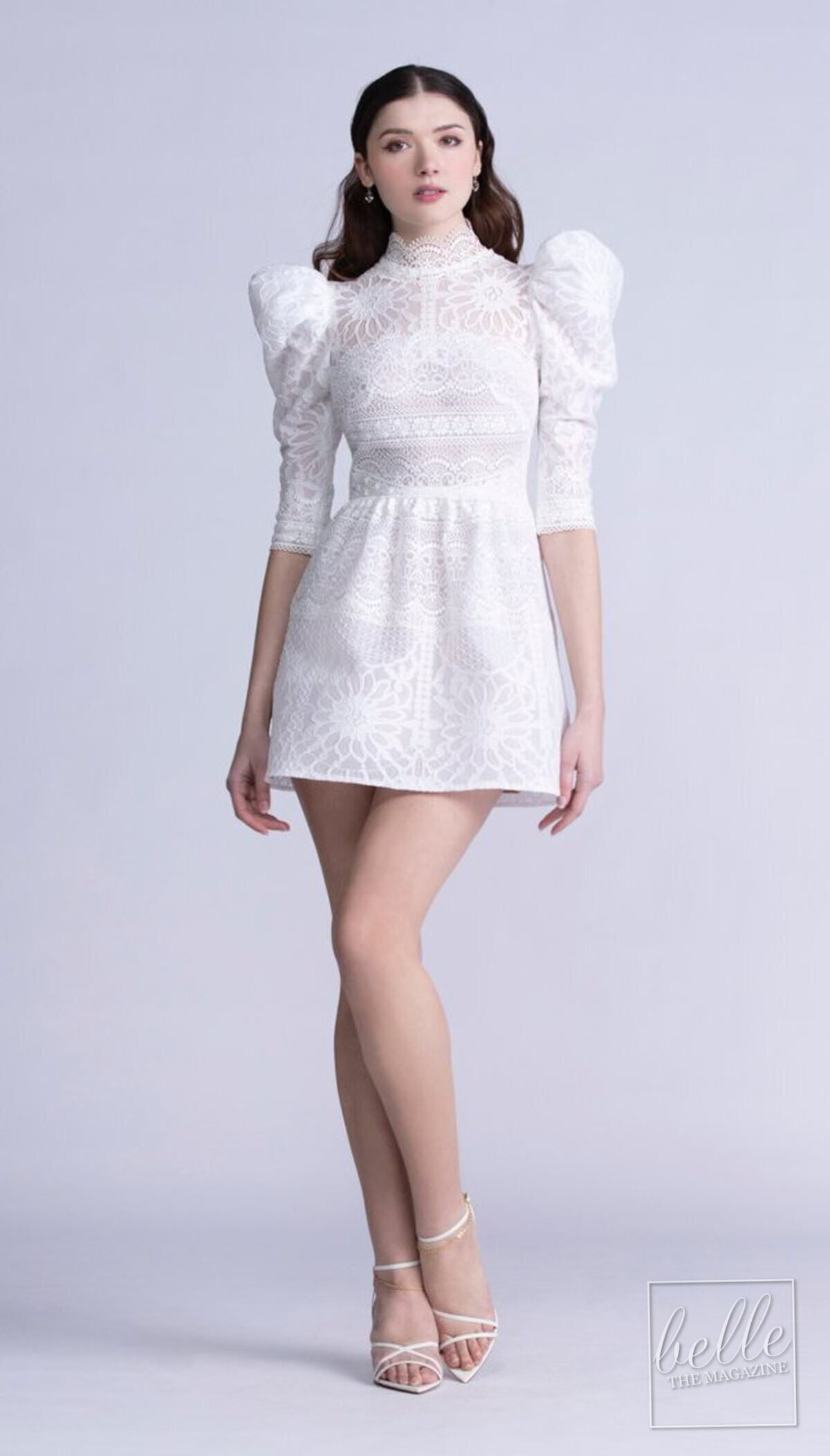 Wedding dress trends 2021 - Mini dresses and separates - Bywatters - Adelia