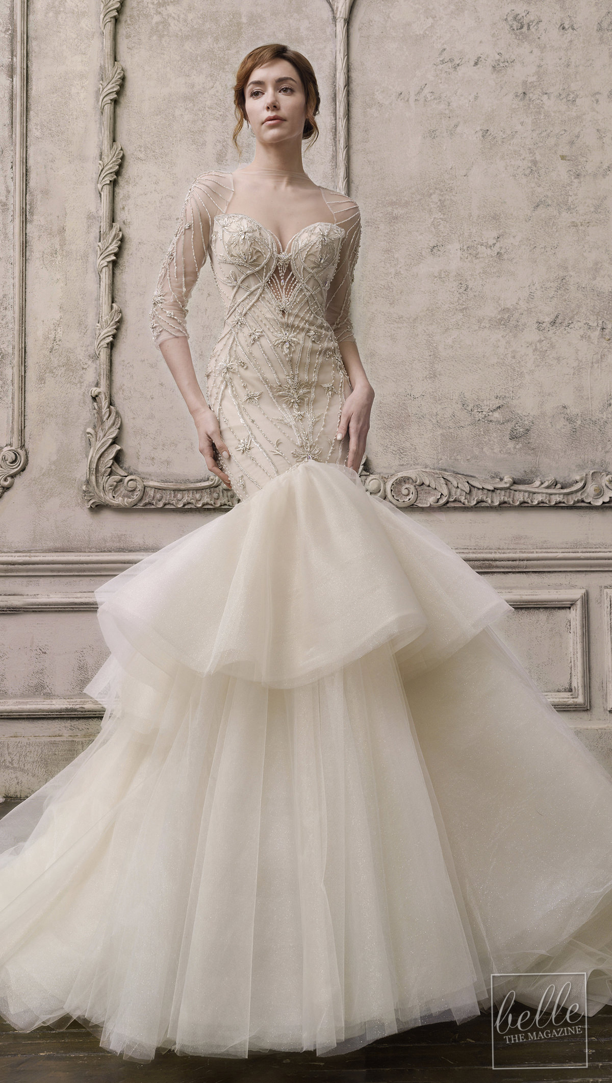 Wedding dress trends 2021 - Ruffles - THE ATELIER COUTURE BY PROFESSOR JIMMY CHOO
