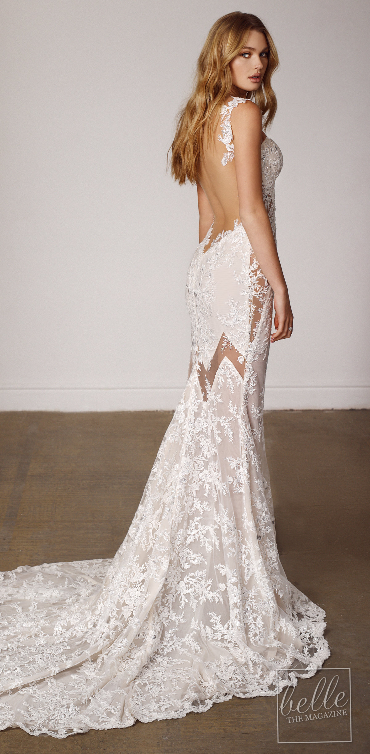 Open back Sexy bridal gown by Galia Lahav