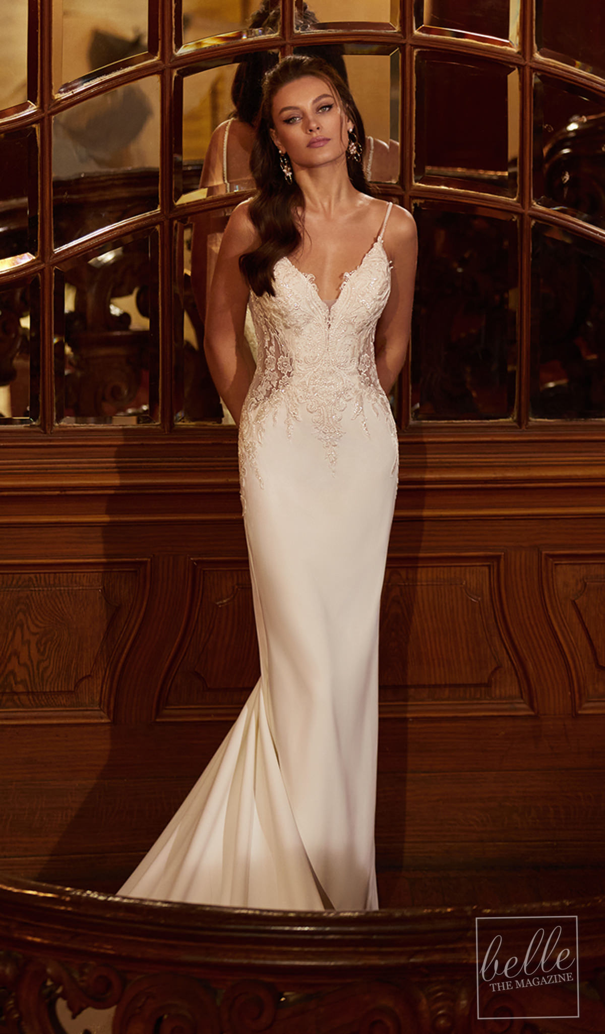 Sexy Bridal Gown by Moonlight Bridal