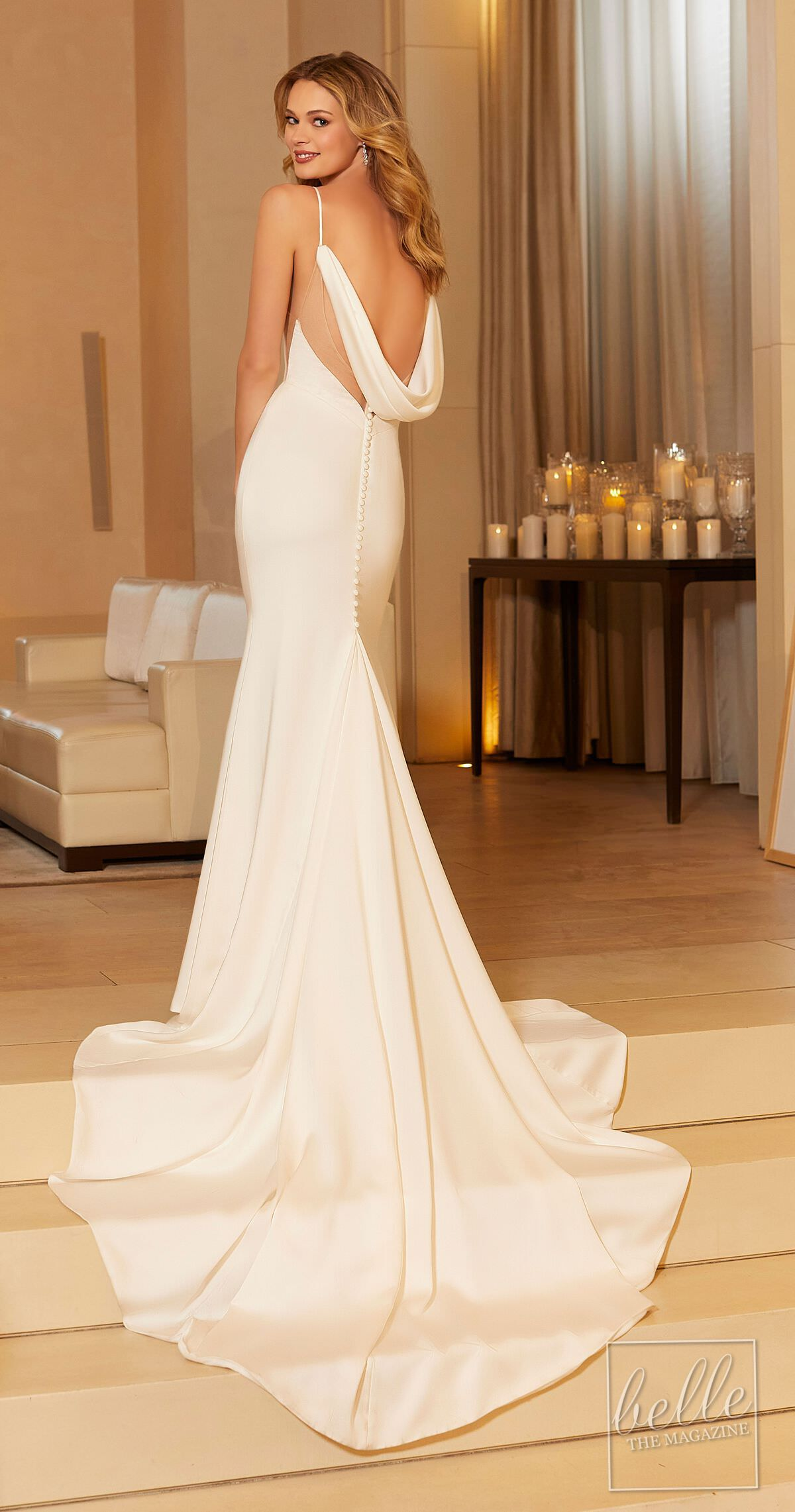 Open back wedding dress from The Other White Dress by Morilee