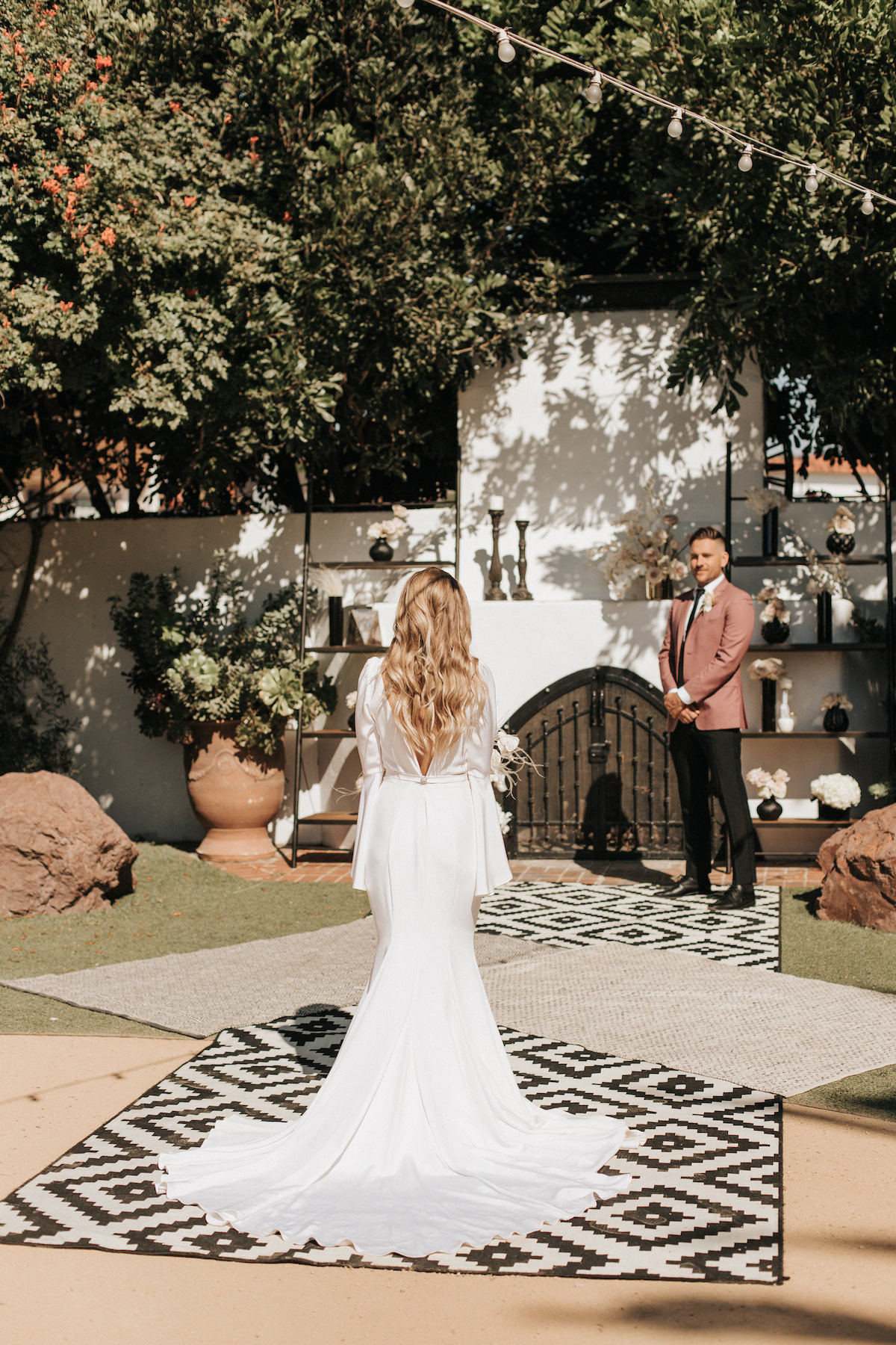 Black and white elopement - Sydney Bliss Photography