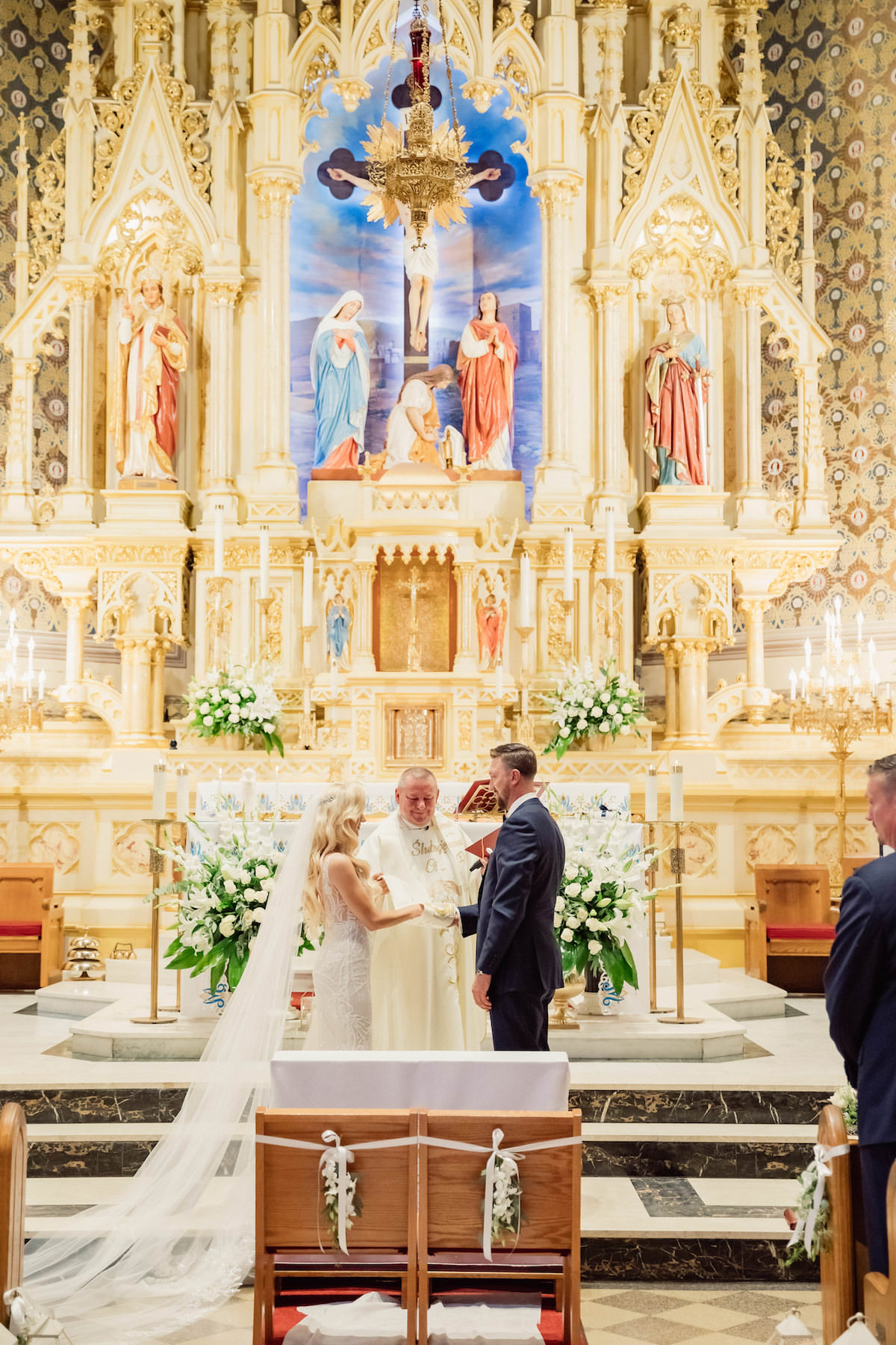 New York Church wedding ceremony - Photography: Charming Images