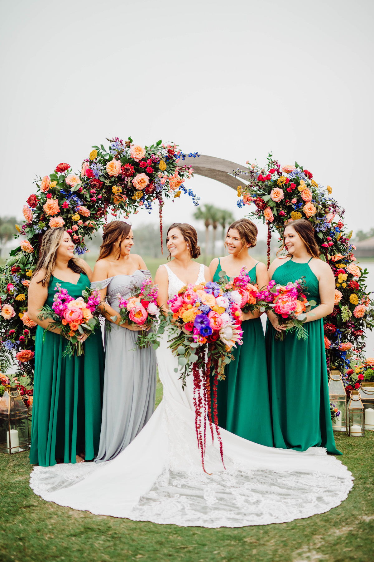 Colorful Summer Wedding - Bohemian Road Photography