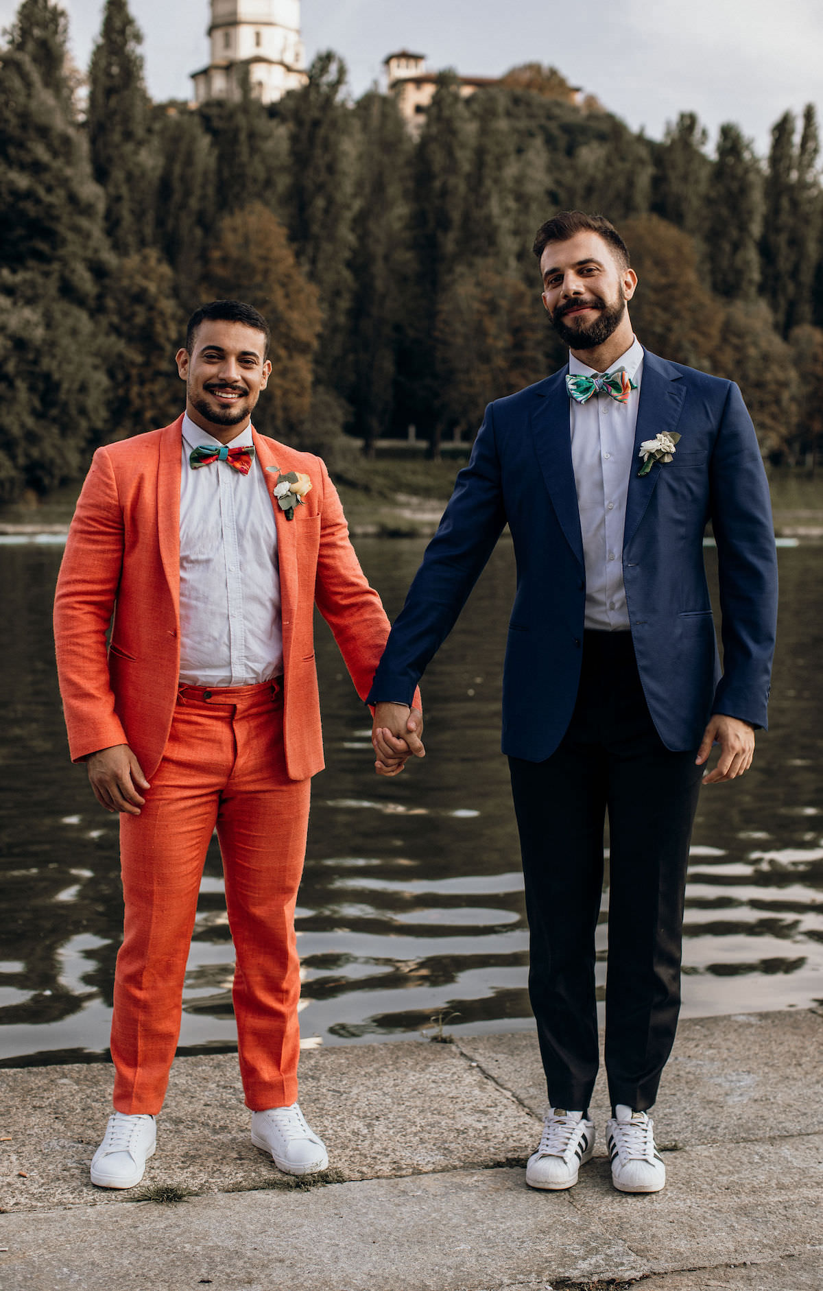 Colorful Gay engagement session - Photography: Giada Joey Cazzola