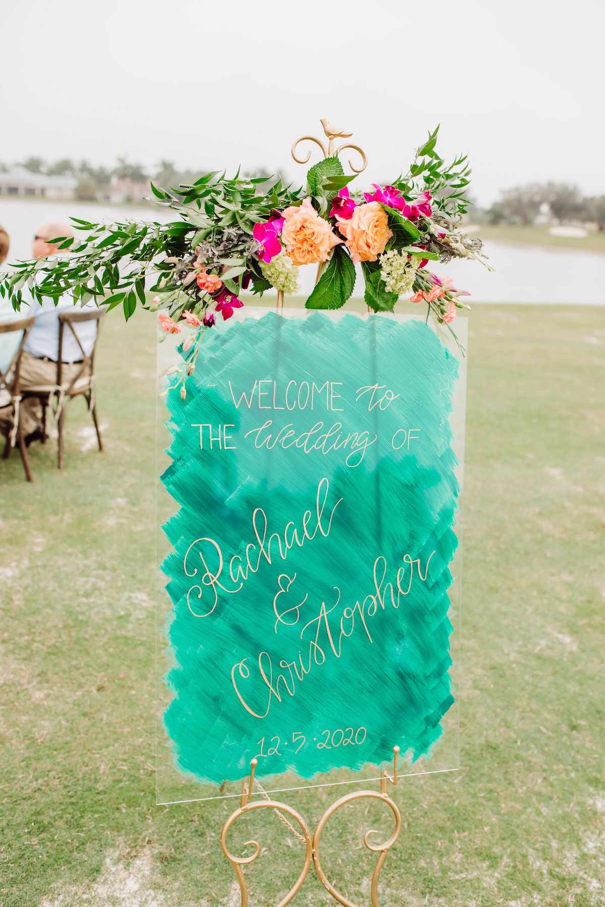 Wedding Ceremony Sign - Bohemian Road Photography