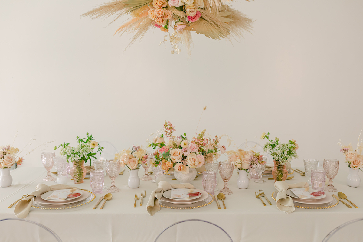 Luxury Wedding Table - Kiss & Say I Do Events - Lily Tapia Photography