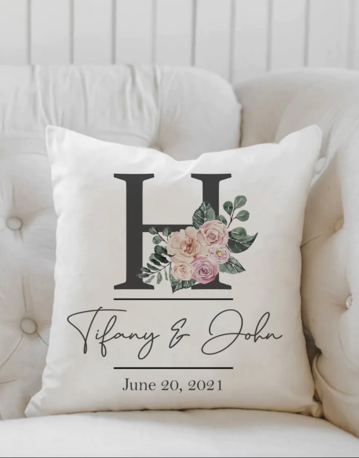 Personalized Couples Pillowcases - Cute Wedding Gift