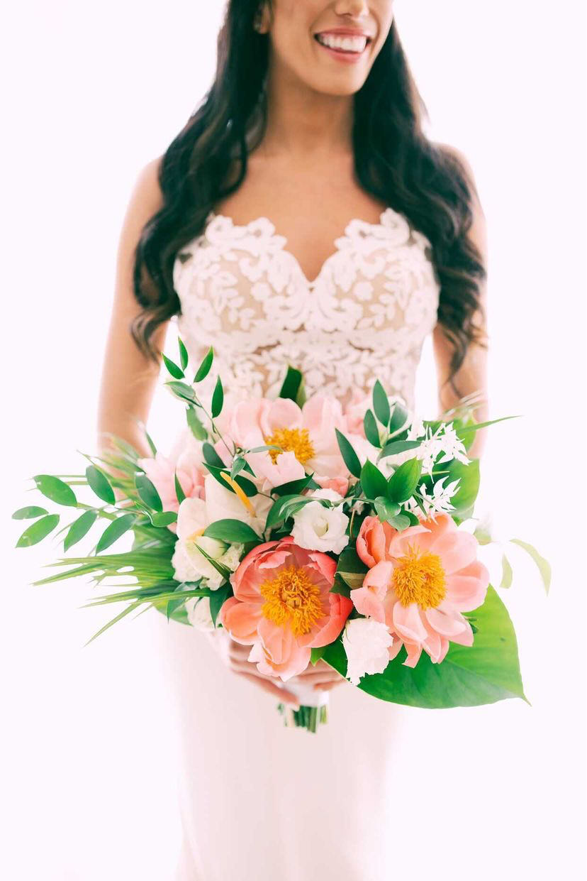 Tropical Wedding Bouquet - Christopher Plaza - The Bride Candy