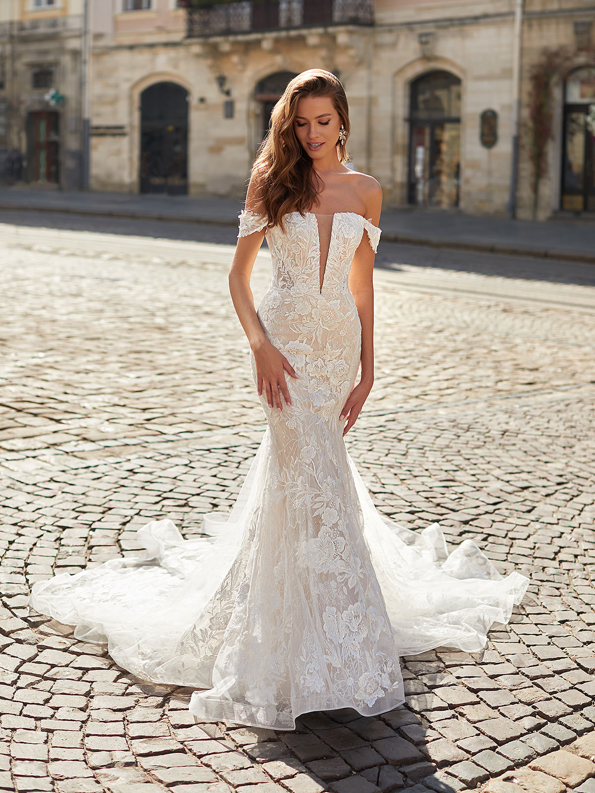 Designer Wedding Dresses by Moonlight Couture 2022 Bridal Collection - H1481_A