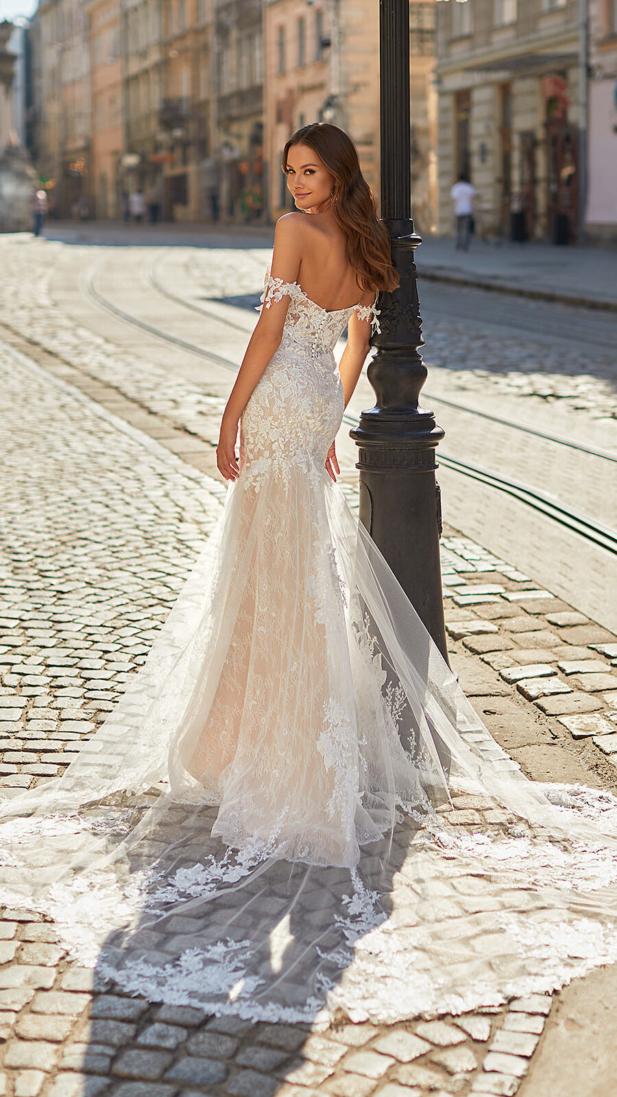Designer Wedding Dresses by Moonlight Couture 2022 Bridal Collection - H1483