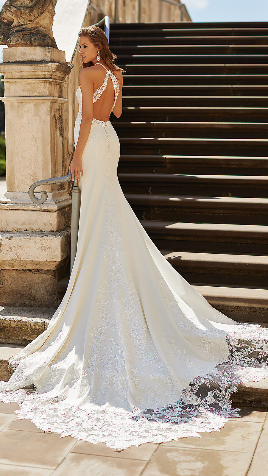 Designer Wedding Dresses by Moonlight Couture 2022 Bridal Collection - H1485