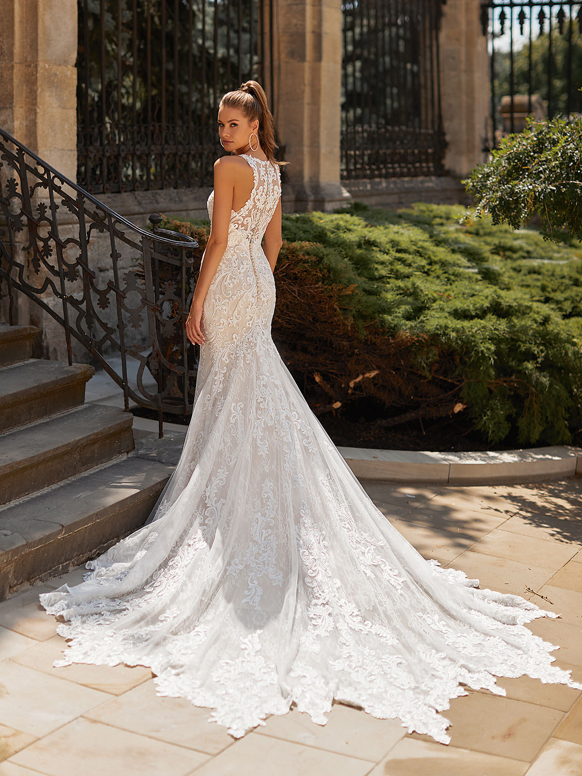 Designer Wedding Dresses by Moonlight Couture 2022 Bridal Collection - H1489